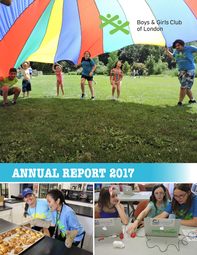 Boys & Girls Club Annual Report 2017