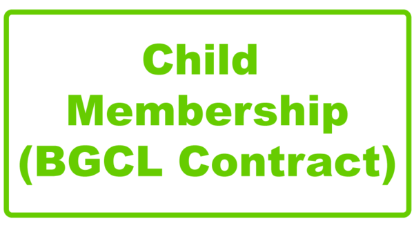 Child-Membership contract