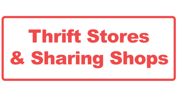 Other Thrift Stores and Sharing Shops