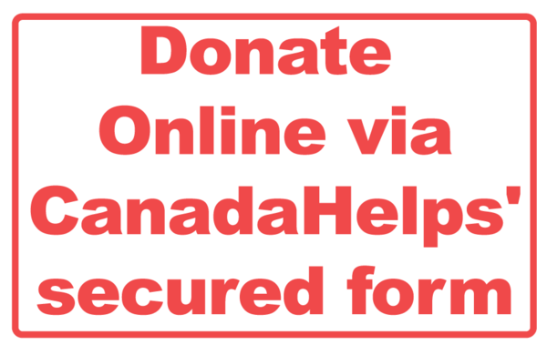 Donate Online via CanadaHelps' secured form