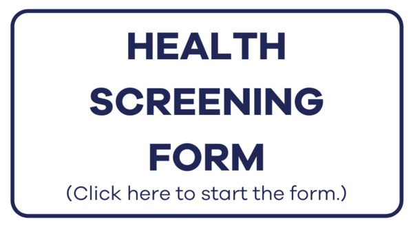 Health Screen Form Website Button