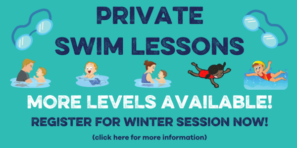 Private Swim Lessons Banner